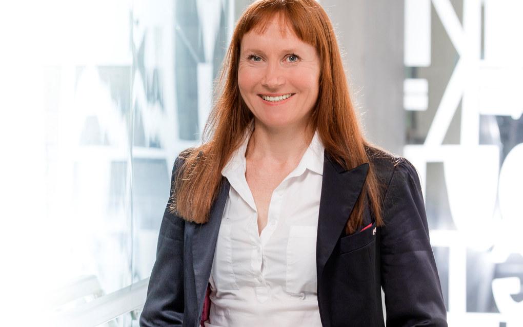 Anita Knapskog er leiar i Utdanningsforbundet Hordaland: Foto: Utdanningsforbundet