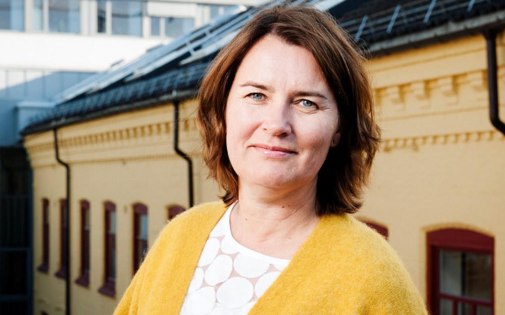 Nestleder Hege Valås i Utdanningsforbundet sier de vil ha en bred høring gjennom sine fylkeslag og lokallag når det nye forslaget til rammeplan for barnehagen kommer i midten av oktober. Foto: Stig Weston