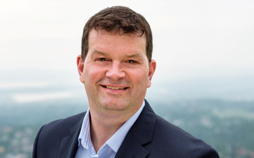 Hans-Christian Gabrielsen ligger foreløpig godt an til å bli LOs neste leder. Foto: Trond Isaksen/LO