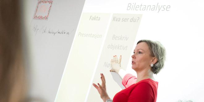 Kvinnelig lærer