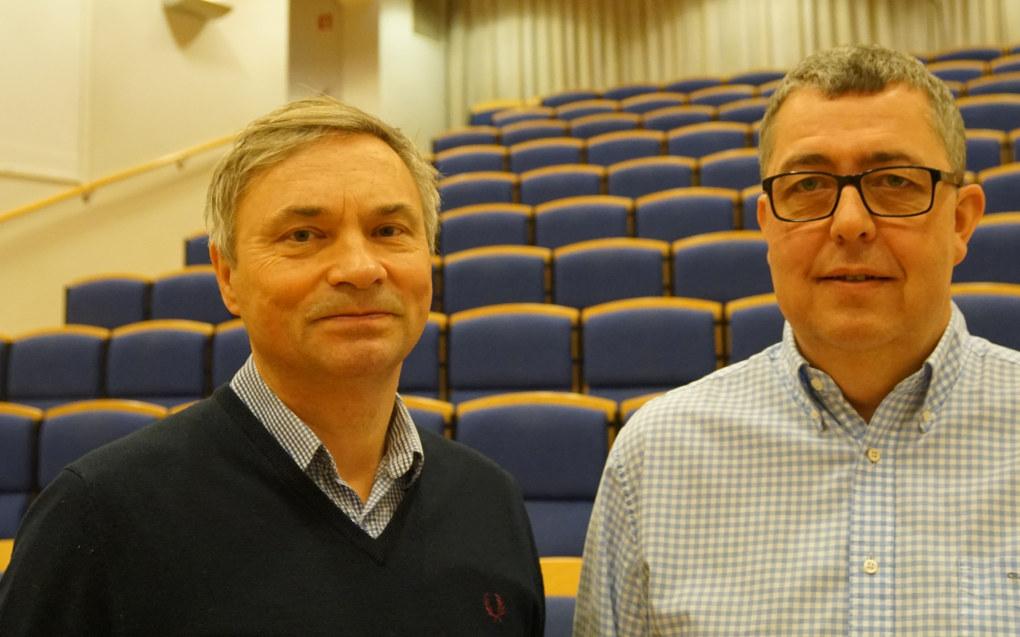 FAFO-forskerne Bård Jordfald og Rolf K. Andersen har sett på endringer i arbeidskraften i byggenæringen og behovet for nyrekruttering av ungdom. Foto: Marianne Ruud