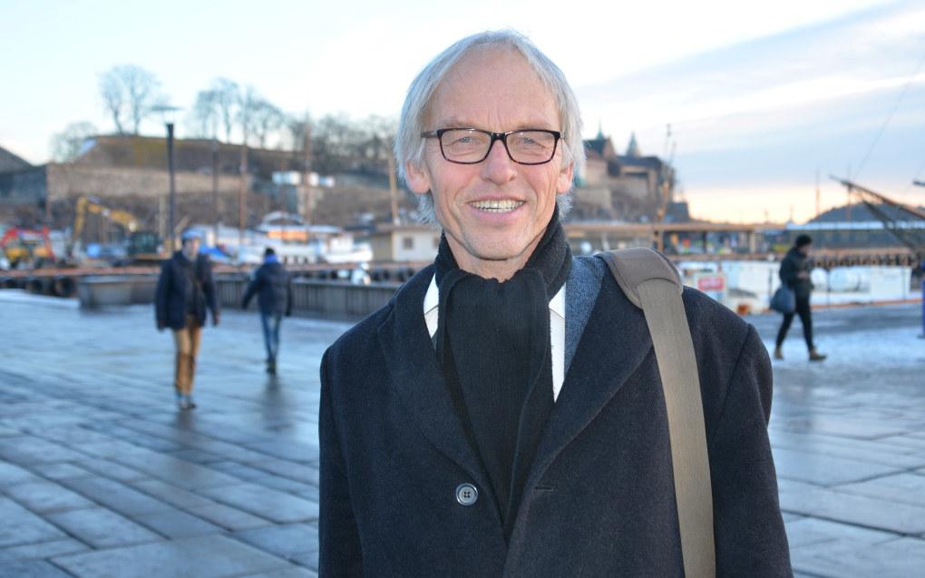 Svein Roar Hagen ber pent om å ikke bli framstilt som noen drømmelærer. Det blir for kjedelig, synes Marte Gerhardsens favorittlærer. Foto: Lisbet Jære