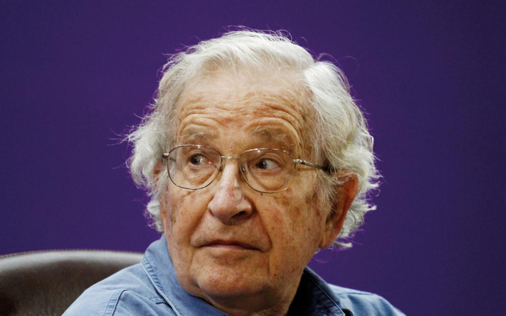 Noam Chomsky. Foto: Hatem Moussa AP/NTB scanpix
