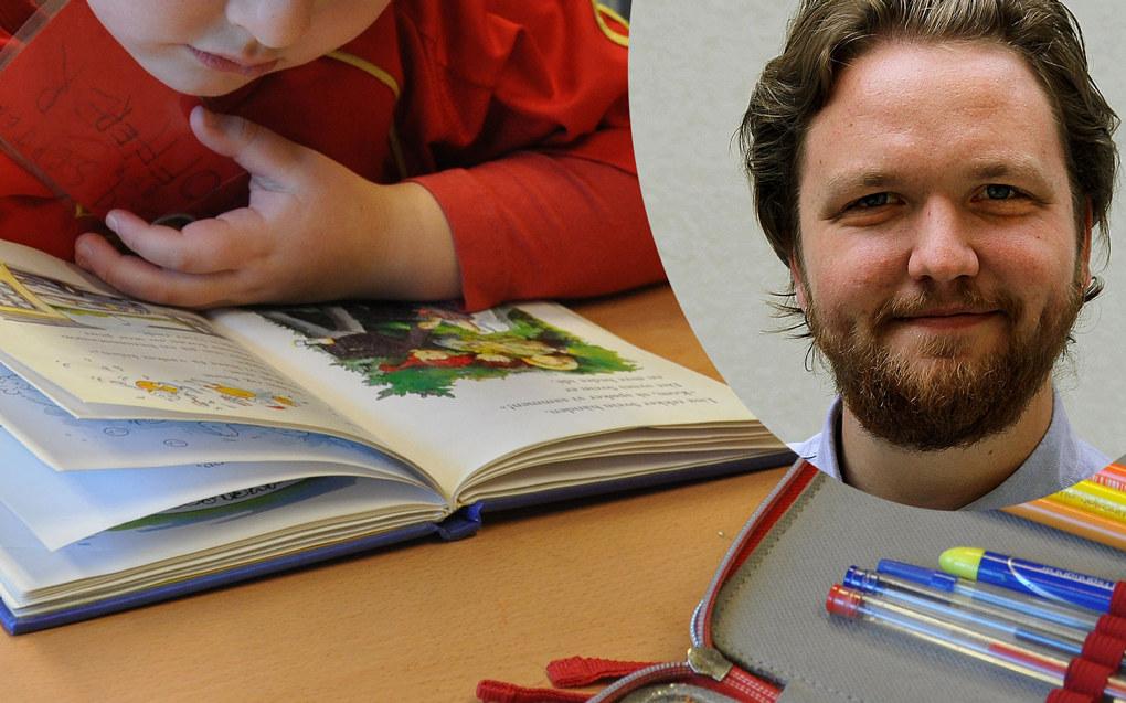 Da en elev knakk lesekoden, visste Bjørn Roberg hva han skulle gjøre resten av livet. Arkivfoto: Utdanning/Pedagogstudentene
