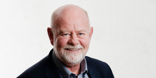 Bildet av Terje Skyvulstad, 1. nestleder i Utdanningsforbundet. Fotograf: Stig Weston