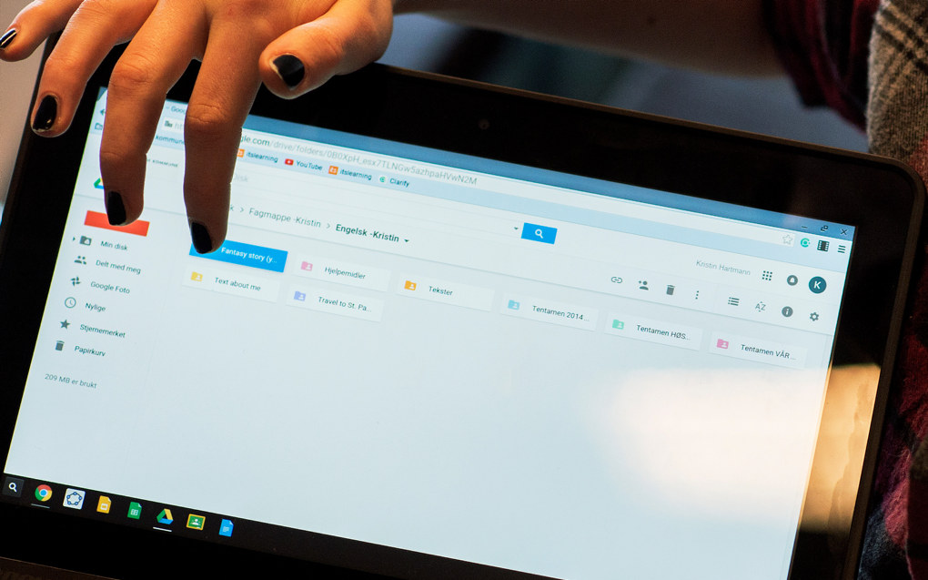For å imøtekomme våre elevers digitale forutsetninger og deres arbeid med de ulike kompetansemål innen digitale ferdigheter, bør landets skoleeiere bruke Monitor 2016 som det gode verktøyet det er, skriver Karsten Gundersen. Arkivfoto: Utdanning