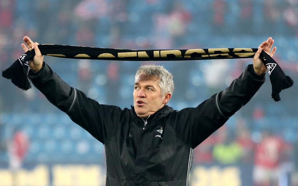 En jublende glad Rosenborg-trener Kåre
