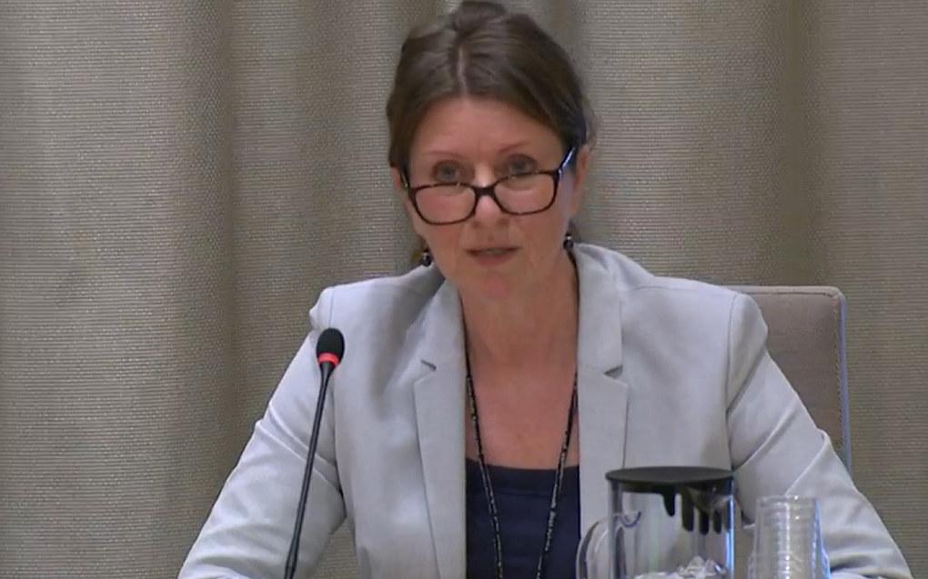 – Det må bli mer attraktivt å jobbe i lærerutdanningen, blant annet ved å heve lønnen til minst samme nivå som i skolen, poengterte Nina Nordvik i høringen om humaniorameldingen i Stortinget. Skjermdump fra Stortinget.no