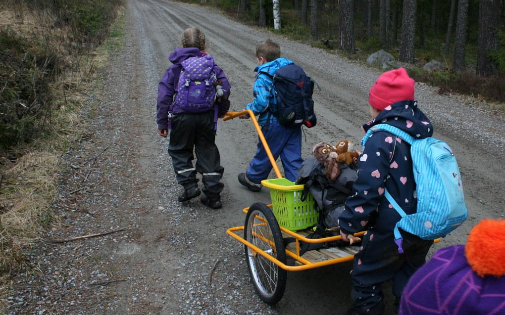 – I norske barnehager er leken det viktigste utgangspunktet for læring, skriver innspillforfatterne. Ill.foto: Kjersti Mosbakk, Utdanning