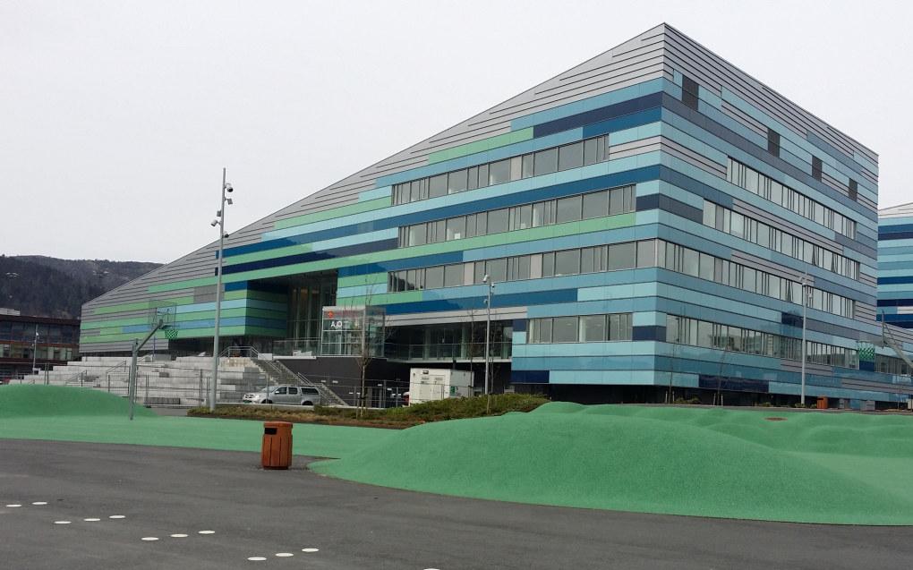 I Bergen er det Amalie Skram videregående skole som har det trangeste nåløyet i år. Arkivfoto: Harald F. Wollebæk, Utdanning