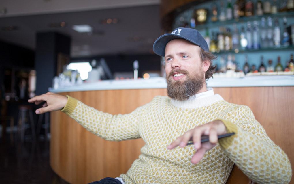 Gründeren Johan Brand betegner seg selv som en skaper og setter stadig i gang nye prosjekter. Foto: Hans Skjong
