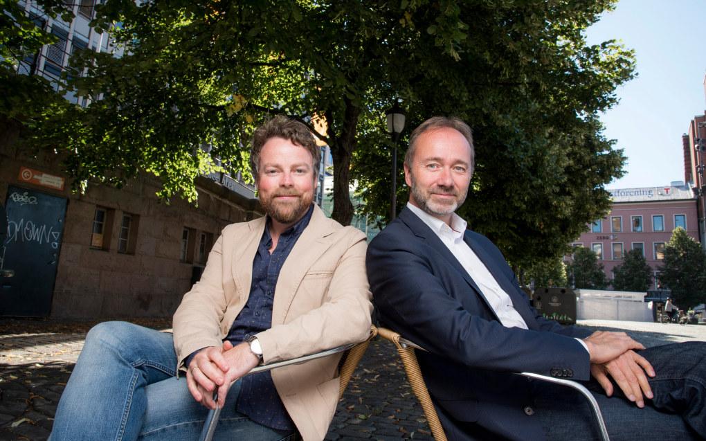 Torbjørn Røe Isaksen (H) og Trond Giske (Ap) ønsker begge å styre utdanningspolitikken etter valget i september. Foto: Erik M. Sundt