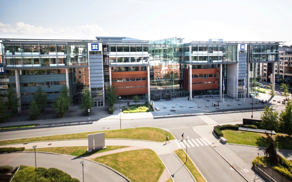 Handelshøyskolen BI i Oslo. Foto: BI