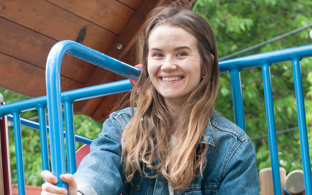 Live Nelvik tenker tilbake på tida i barnehagen med glede. – Det var her jeg lærte meg å være sosial, og å forholde meg til andre barn, sier hun. Foto: Bente Bolstad