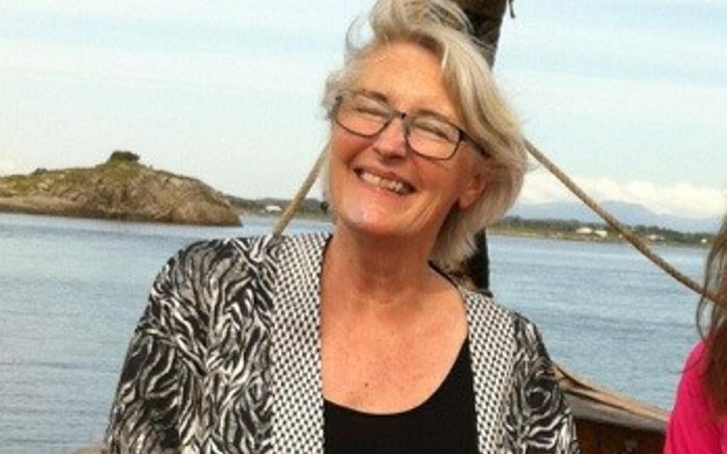 Karin Østborg, ungdomsskolelærer ved Blussuvoll skole i Trondheim, får gnistrende ros fra en mor. Foto: Privat