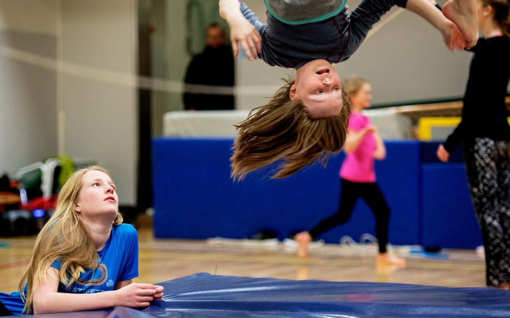 Det går mot mer fysisk aktivitet i skolen. Arkivfoto: Utdanning