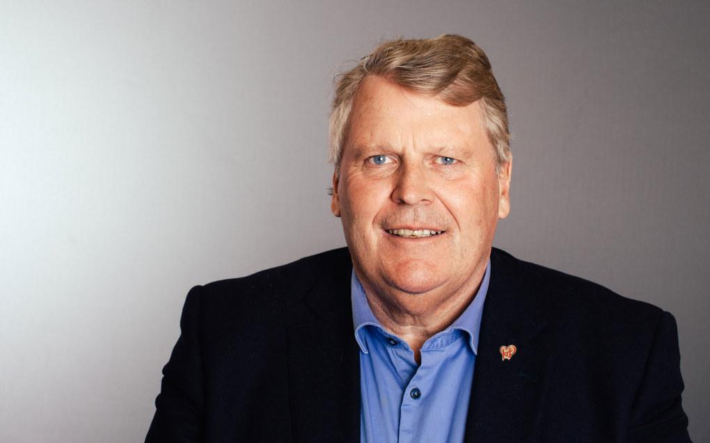 Hans Fredrik Grøvan er parlamentarisk nestleder i KrF og bekymret for at yrkesfag er så underrepresentert på Stortinget. Foto: Gunnhild Sørås / KrF