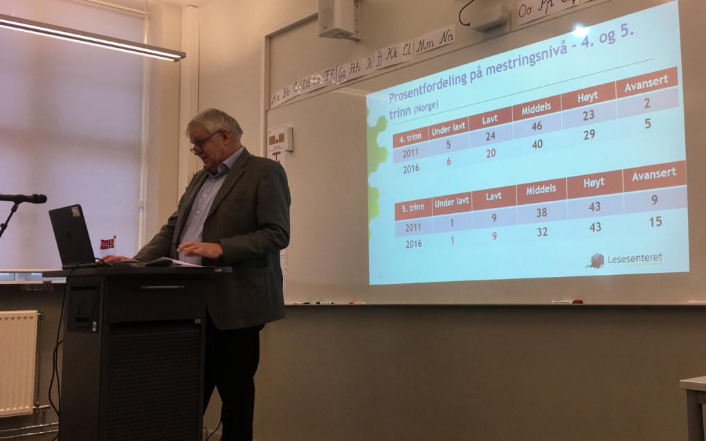 Dosent Egil Gabrielsen mener det er på tide å diskutere om reglene for å få utsatt skolestart, er for strenge. Foto: Sonja Holterman