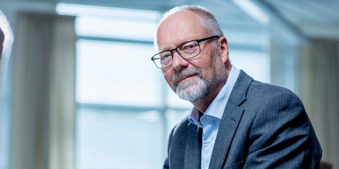 Sjeføkonom Erik Orskaug i Unio sittende