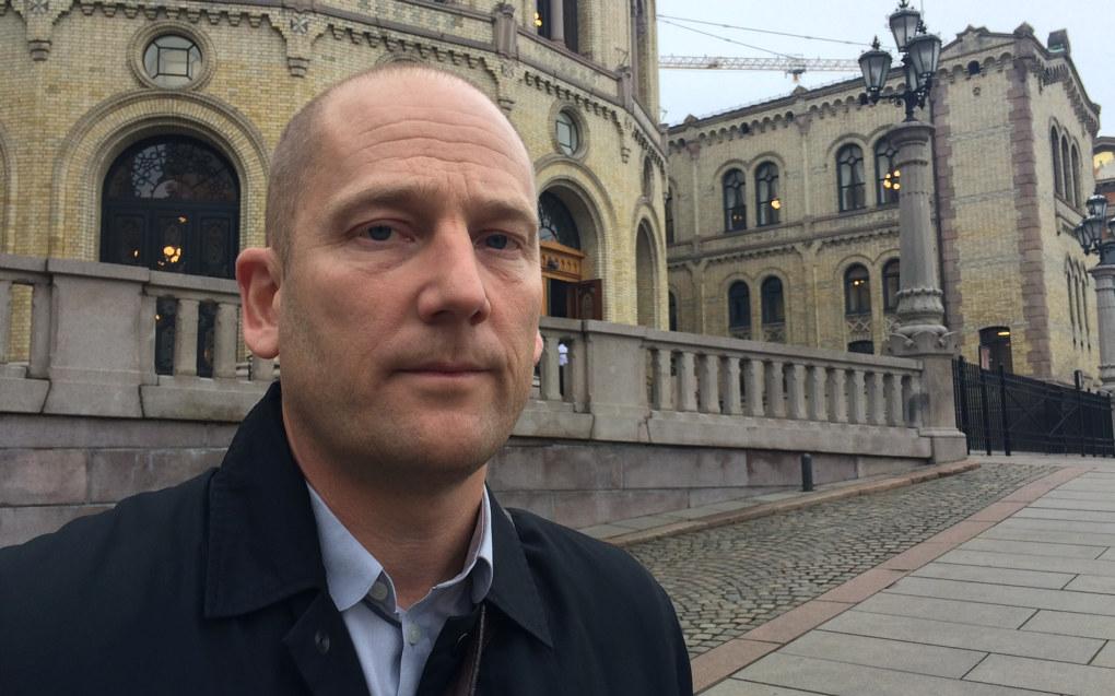 Steffen Handal er leder i Utdanningsforbundet. Han sier lærerne må forberede seg på omkamp etter at Stortinget i dag forsat går for avskilting av lærere. Arkivfoto.
