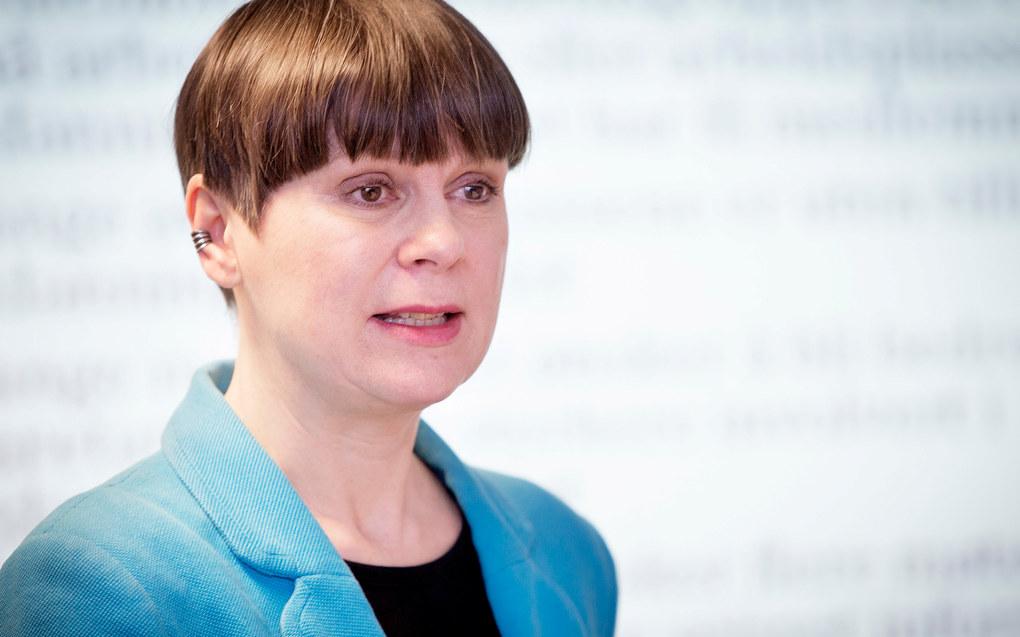 – Vi frykter at en overføring til fylkeskommunalt nivå kan pulverisere ansvaret og svekke tilbudet, sier Gro Hartveit, sentralstyremedlem i Utdanningsforbundet. Foto: Anette Andresen.