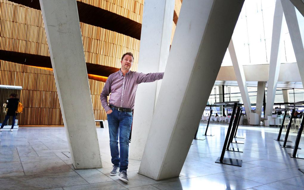 Eirik Husby er styreleder i PBL og eier barnehagekjeden Borg barnehager. Nå mener Oslo kommune selskapet hans har spart penger på lav bemanning i en av barnehagene. Foto: Hans Skjong.