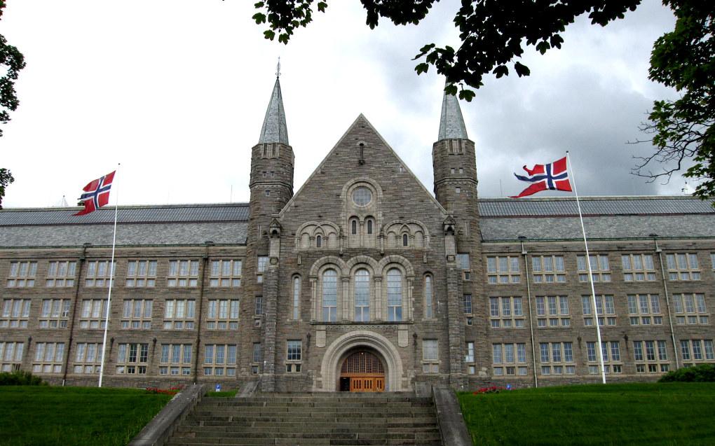 Hovedbygningen ved NTNU i Trondheim. Foto: NTNU