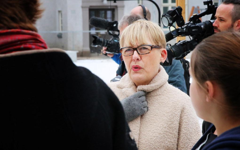 I Aftenposten skriver utdanningsdirektør Astrid Søgnen at saken handler om elevenes skolemiljø og ikke først og fremst ansattes ytringsfrihet. Foto: Jørgen Jelstad.
