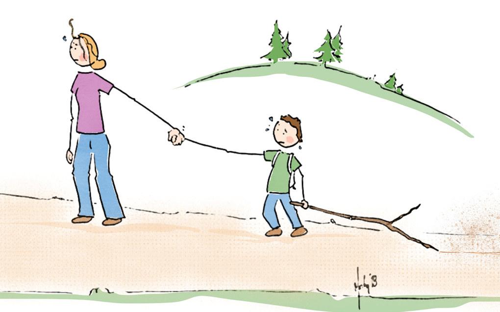 Har vi grunn til å tro at barn uttrykker misnøye uten grunn, eller bare for å være irriterende? spør Morten Solheim, seniorrådgiver i Utdanningforbundet Illustrasjon: Morten Solheim