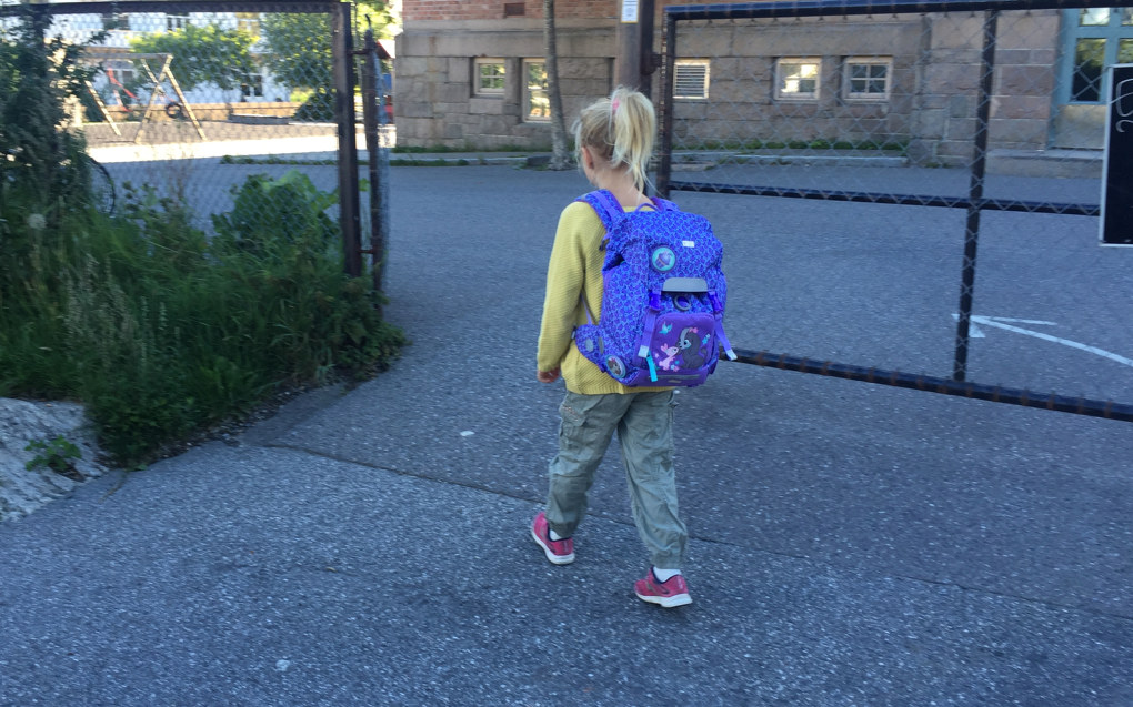 6-åringane skal starta eit langt og krevjande skoleløp. Dei bør derfor få ein god og positiv start som skaper lærelyst, sjølvstende og oppleving av meistring, skriv Sigmund Sunnanå. Ill.foto: Paal Svendsen