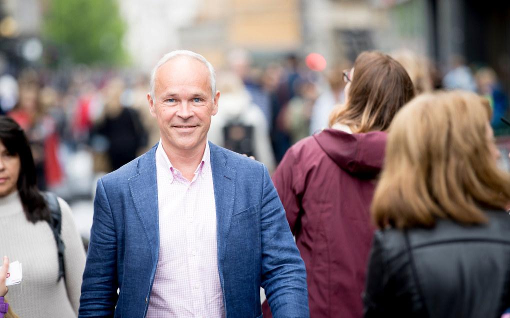 Jan Tore Sanner er mye mer åpen og leken enn han virker på TV og i aviser, ifølge tidligere klima- og miljøminister for Høyre, Tine Sundtoft. Foto: Bo Mathisen