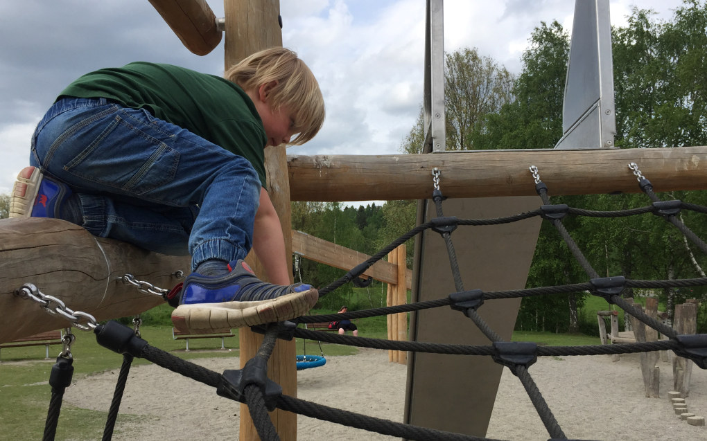 Pauser med frilek bedrer elevenes læringsutbytte, poengterer Regine Nagelhus. Ill. foto: Paal Svendsen