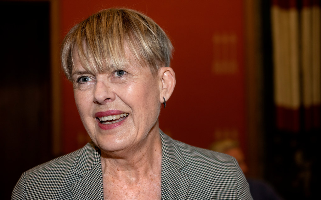Flere medier erfarer at utdanningsdirektør i Oslo, Astrid Søgnen, må gå ved fylte 67 år - nå i høst. Men Søgnen har full rett til å sitte i stillinga til hun fyller 72. Foto: © Mimsy Møller / Samfoto