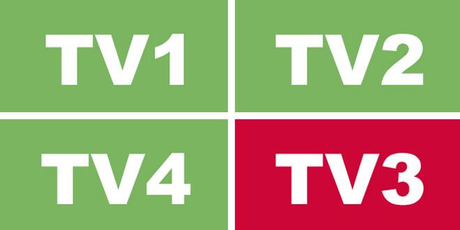 Logo med bokstavene TV3