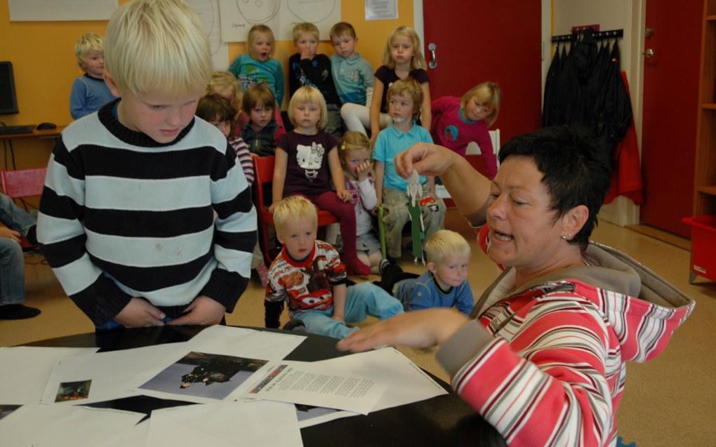 Norge er det landet som bruker den høyeste andelen av brutto nasjonalproduktet på barnehage blant medlemslandene i Organisasjonen for økonomisk samarbeid og utvikling (OECD). Ill. foto: Lise-Marte Vikse Kallåk