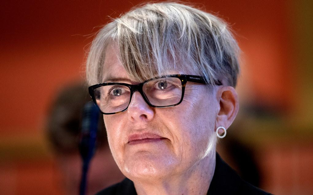 Under et møte 7. september fikk Astrid Søgnen tilbud om en annen stilling i et møte med byrådsleder Raymond Johansen. Foto: Mimsy Møller/Samfoto