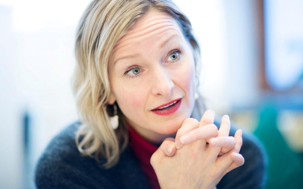Utdanningsbyråd Inga Marte Thorkildsen (SV) får kraftig kritikk for sin oppførsel overfor ansatte i Utdanningsetaten. Foto: Bo Mathisen