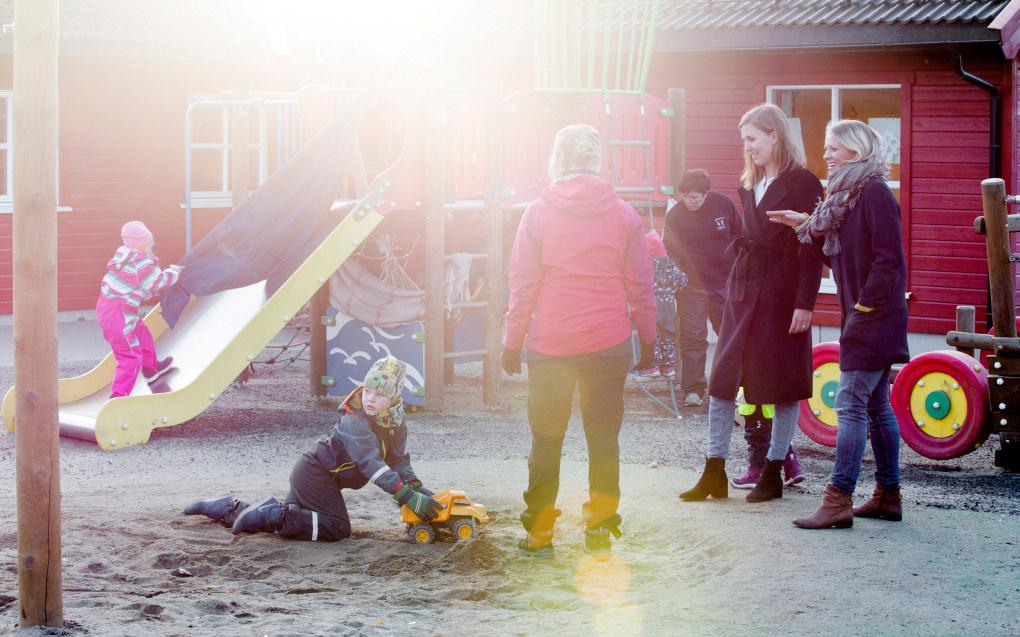 Smedhusåsen barnehage har svært fornøyde foreldre, ifølge den store foreldreundersøkelsen. Men både barnehagestyreren og foreldrestyret er usikre på om undersøkelsen alltid gir svar som rimer godt med virkeligheten. Foto: Tom-Egil Jensen