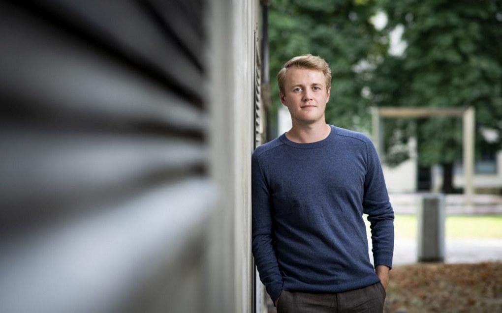 – Regjeringens opplegg straffer dem som bytter utdanning fordi de har valgt feil, sier Håkon Randgaard Mikalsen, leder i Norsk Studentorganisasjon. Foto: Skjalg Bøhmer Vold/NSO