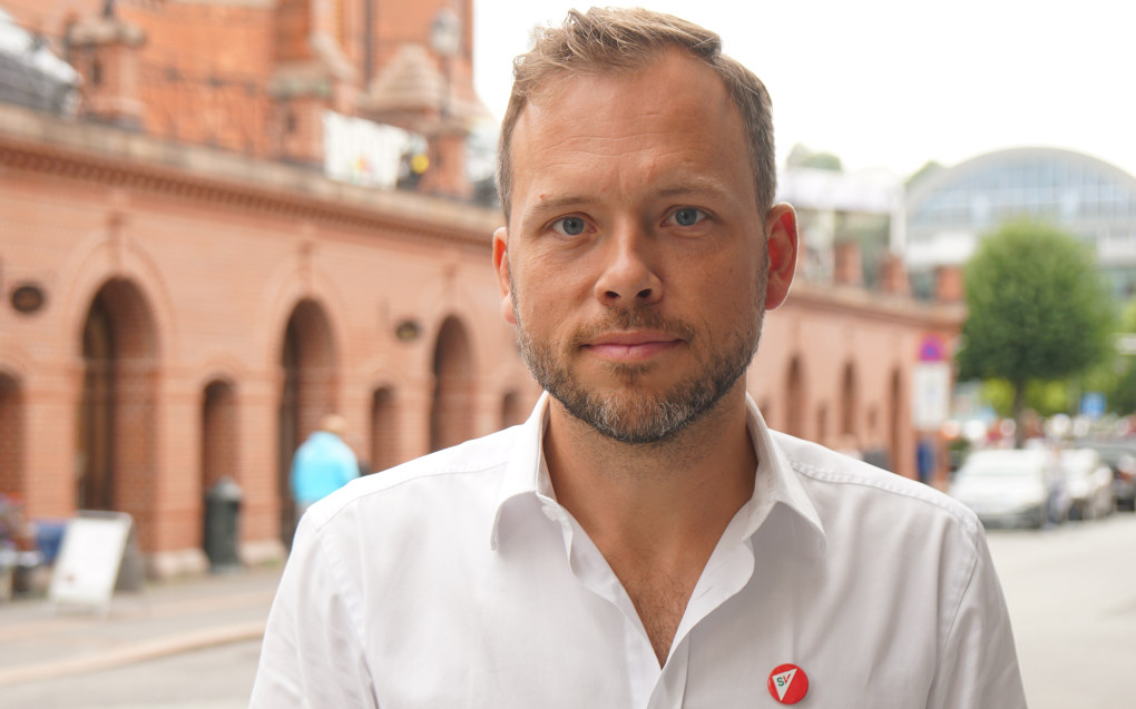 SV-leder Audun Lysbakken frykter at private barnehagegiganter kan true mangfoldet i sektoren. Arkivfoto: Utdanning