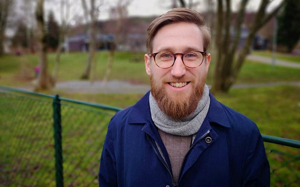 – De ansatte i de gode avdelingene er bevisste sin egen rolle i å støtte barnets språkutvikling, sier Joakim Evensen Hansen, som skal forsvare sin doktorgradsavhandling 20. desember. Foto: Universitetet i Stavanger