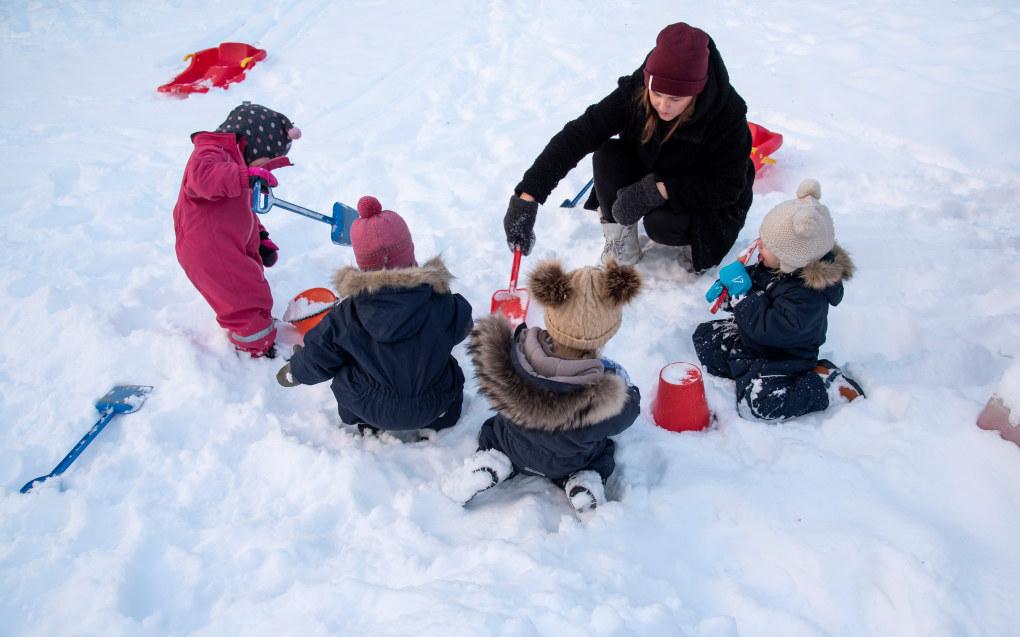 Kunnskapsdepartementet vurderer å endre regelverket for familiebarnehager. Ill. foto: Erik M. Sundt