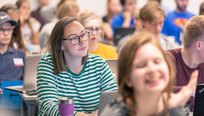 Bilde: Tillitsvalgte i Pedagogstudentene på et av Pedagogstudentenes arrangement.