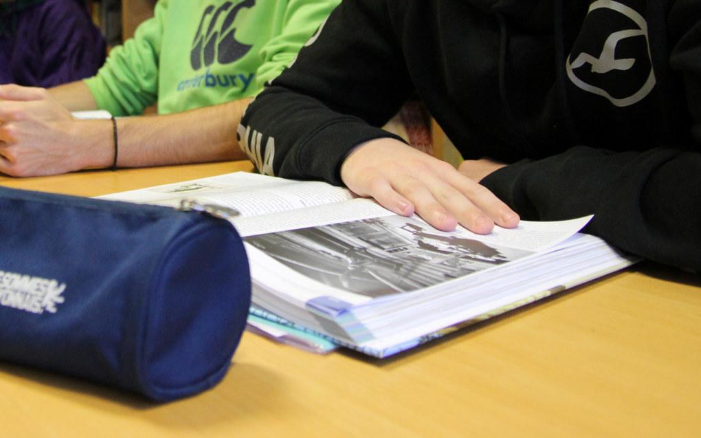Obligatorisk sommerskole for elever som er svake i norsk, kan bli høyrepolitikk under høstens valg. Arkivfoto: Utdanning
