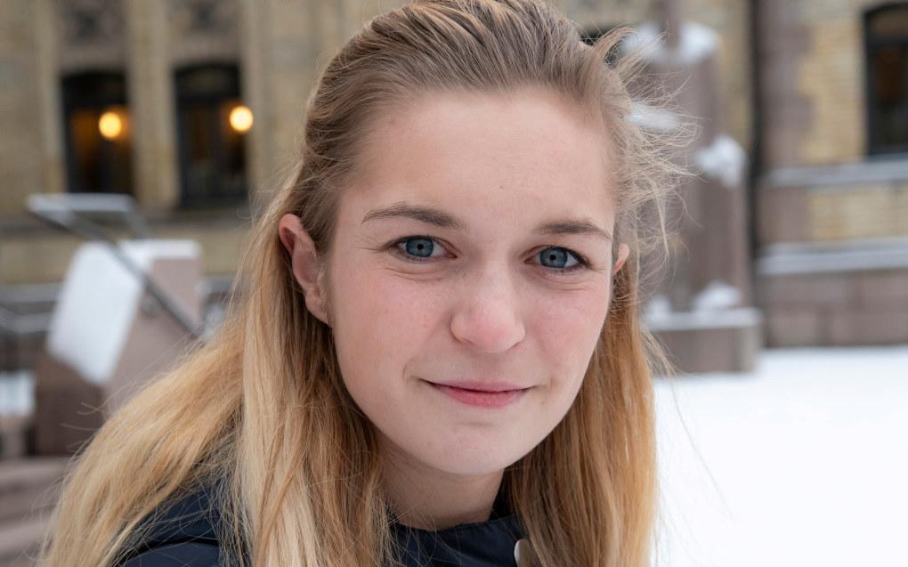 – Løsningen på kjønnsforskjeller i skolen kan ikke være å hindre at jentene gjør det bra eller nedprioritere det faglige innholdet i skolen, sier Mathilde Tybring-Gjedde. Foto: Erik M. Sundt