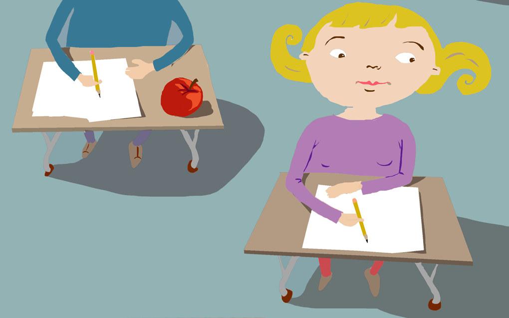 – Det er i klasserommene verdiskapningen i skolen skjer. Den skjer ikke hos forskere i et belønningssystem som tilsynelatende premierer antall publiserte sider mer enn ekte tilstedeværelse i skolen hvor de hadde kunnet bidra med sin kunnskap for lærere og elever, skriver Kjetil Arntzen. Ill: Lars M. Aurtande