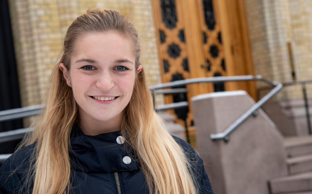 Mathilde Tybring-Gjedde ble politiske engasjert på videregående. Men det var ikke gitt hvilket parti hun ville tilhøre. Foto: Erik M. Sundt