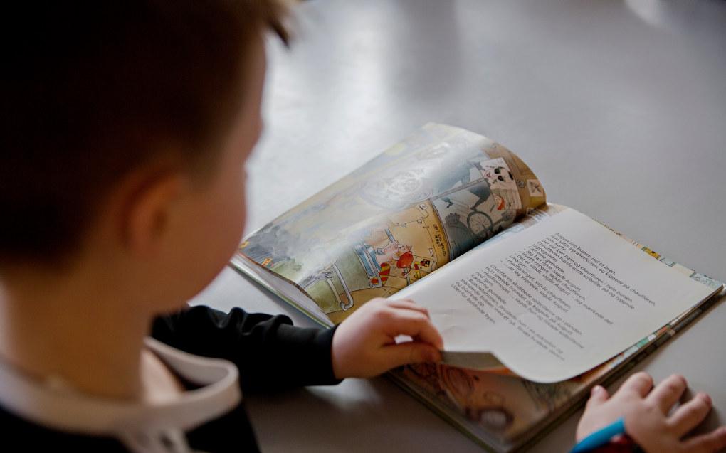 I alt 1421 elever gikk forrige skoleår første klasse om igjen i Danmark: Foto: Kristian Ridder-Nielsen