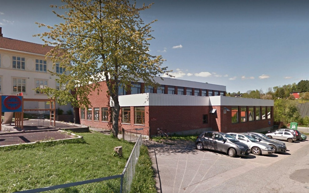 Vollen Montessoriskole i Asker kommune. Foto: Google Maps.
