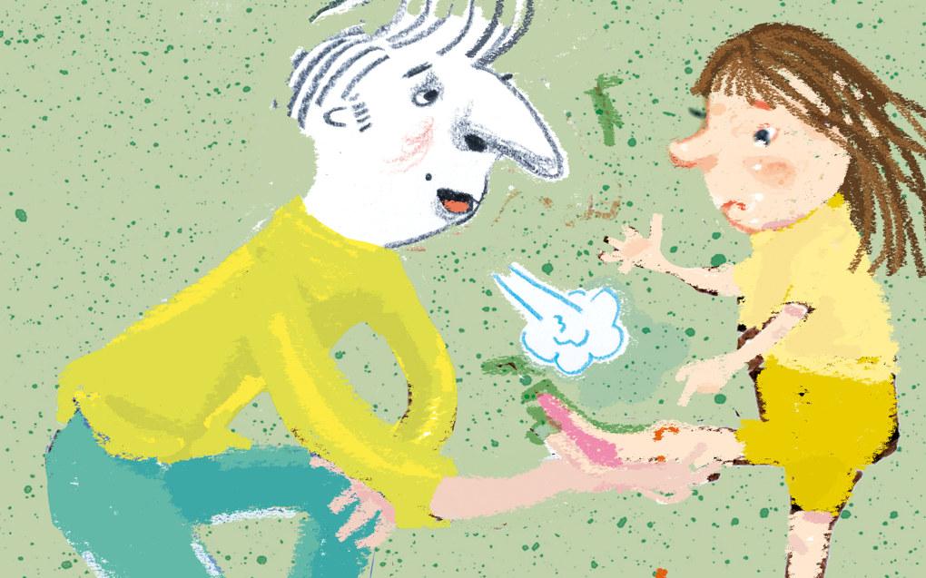Uten økte økonomiske rammer ved barnehagelærerutdanningen blir det mindre tid til de viktige øvelsene om hvordan vi møter barn i vanskelige livssituasjoner og barn med særlige behov, skriver leder for Pedagogstudentene, Frank Bræin. Illustrasjon: Tone Lileng